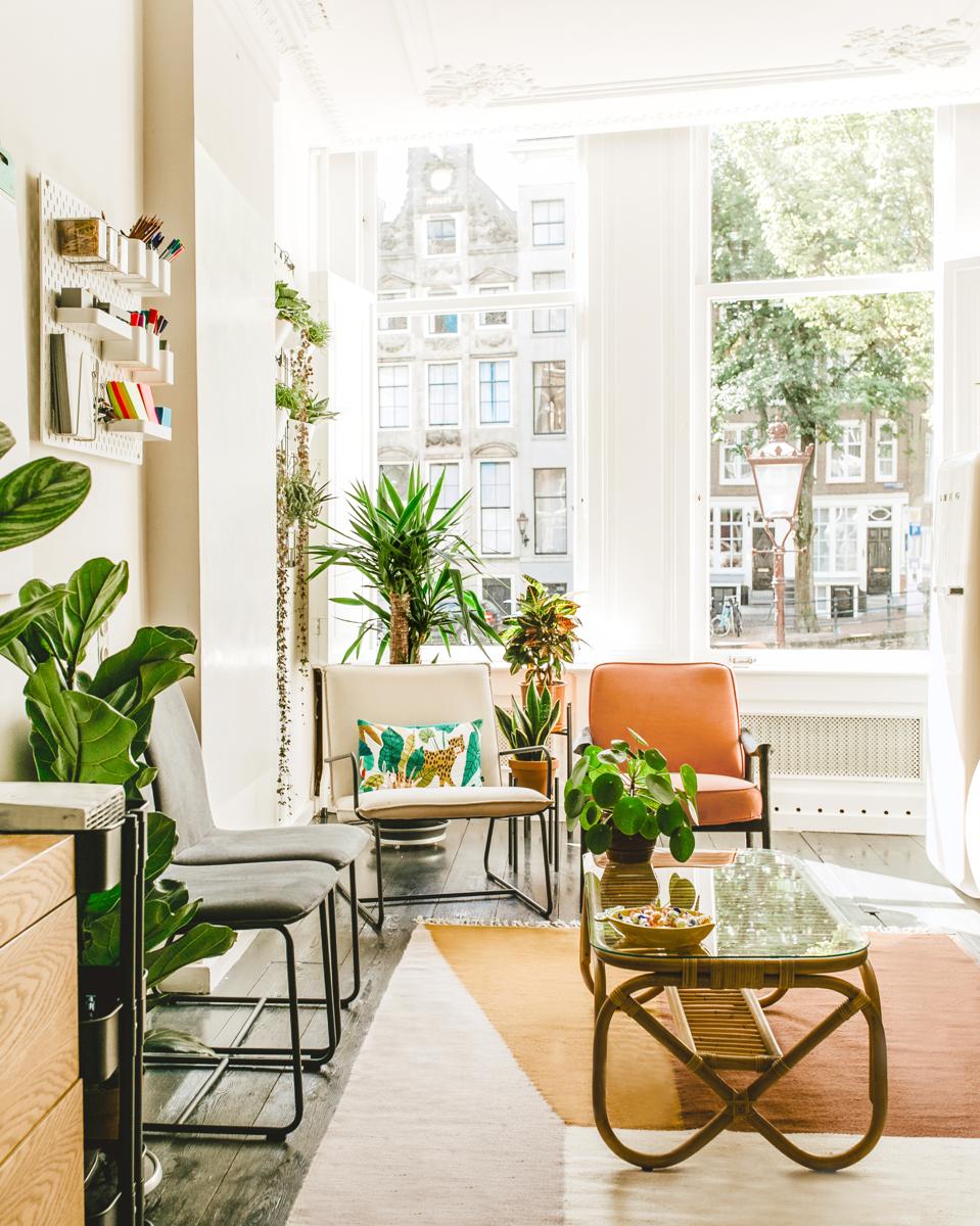 """Profiles: Your Space – """"De nieuwe vergaderruimte op de Herengracht, met meer dan 200 planten."""""""
